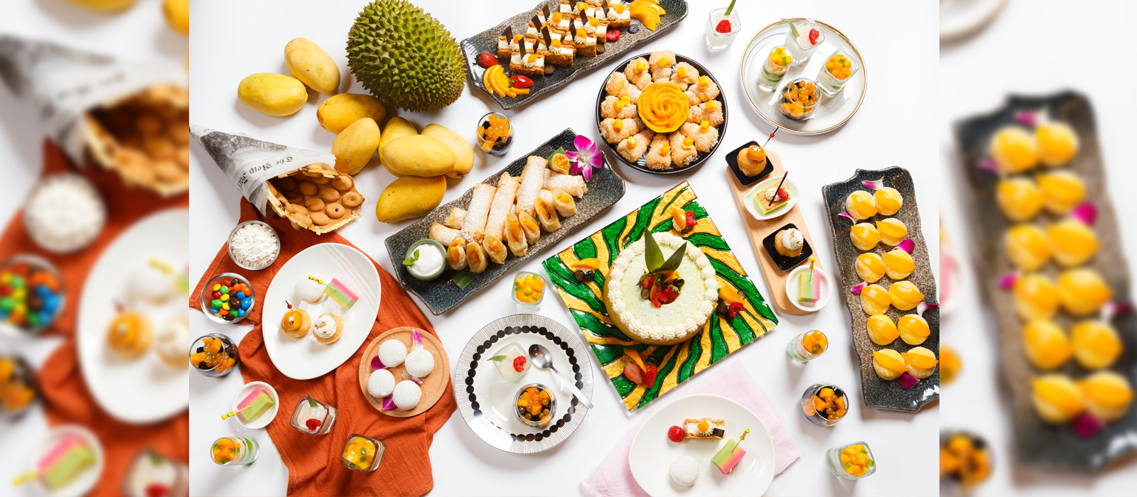 Amazing Tea buffet with Mango & Durian Delights