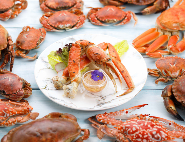 Crab Delights and Seafood Buffet Dinner