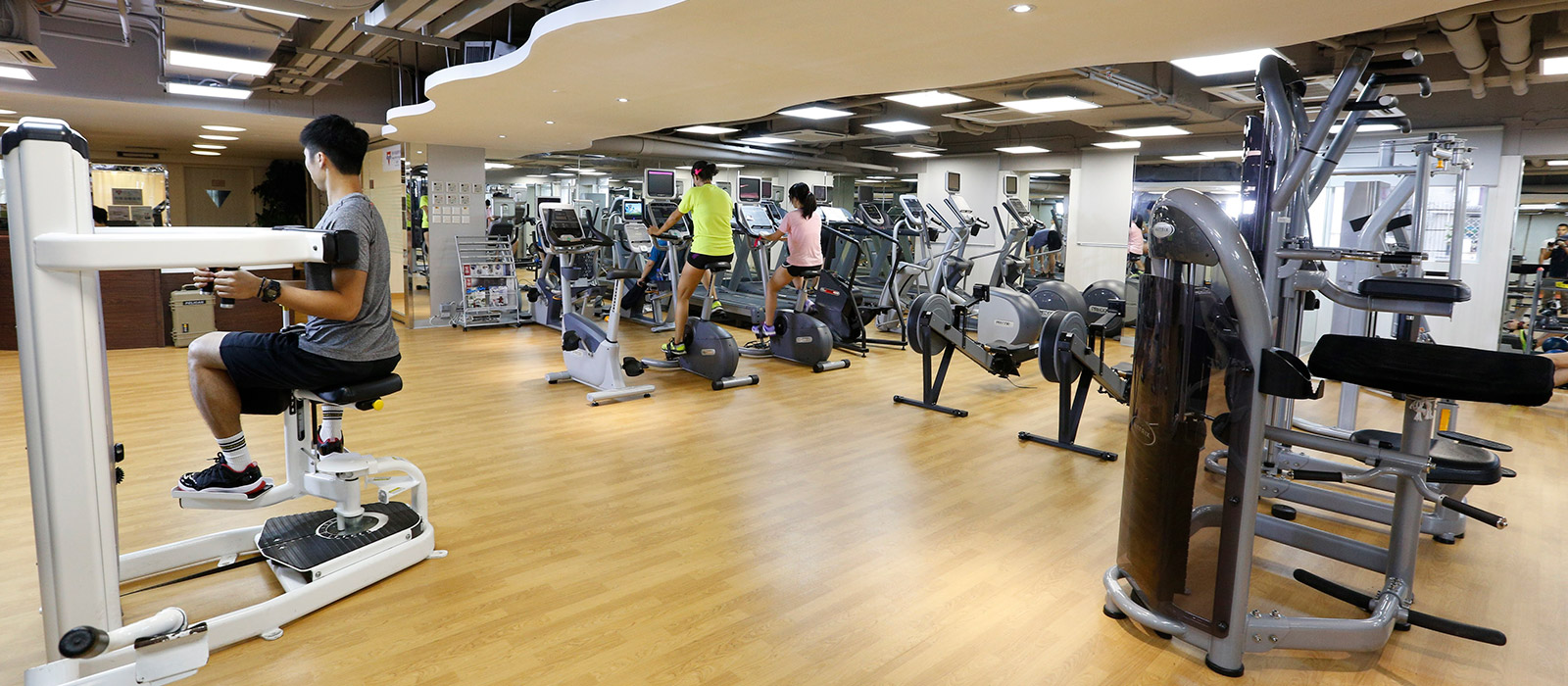 Facilities - Fitness Room, 設施 - 健身室