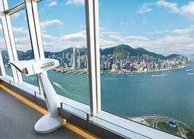 sky100 Hong Kong Observation Deck / 天際100香港觀景台