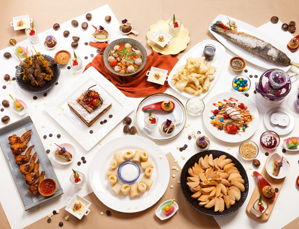 Amazing Tea buffet with Chestnut & Chocolate Delights