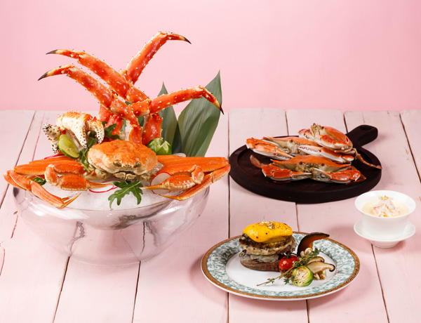 Alaska King Crab x Abalone Delight and Seafood Buffet Dinner